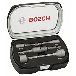 Kuusiohylsysarja Bosch Extra Hard 6-13 mm 6 osaa