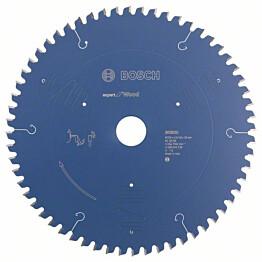 Pyörösahanterä Bosch Expert for Wood 254x30x2,4/1,8 mm 60T