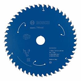 Pyörösahanterä Bosch Expert for Wood 165x20 mm 48T
