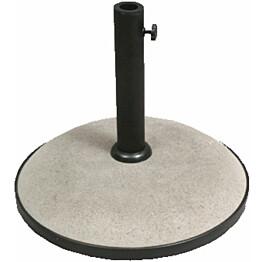 Aurinkovarjonjalka Basic betoni 35 kg Ø 50 cm harmaa