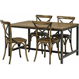 Ruokailuryhmä Vanamo vintage 140 4 tuolilla