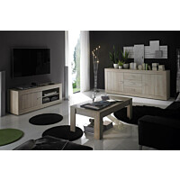 Sohvapöytä Elmeri 45x122x65 cm luonnonvärinen