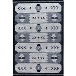 Kelim-matto Ugur 200x300 cm hiili