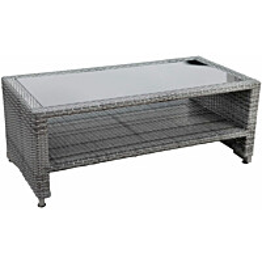 Pöytä Kultaranta harmaa avonainen 113x58x44 mm