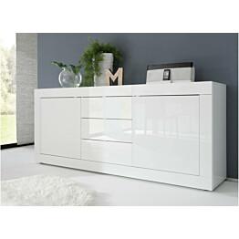 Senkki Moderni 86x210x43 cm valkoinen