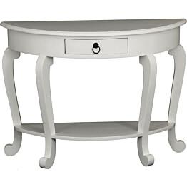 Apupöytä Novalie 72x98x40 cm valkoinen
