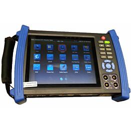 """Testauslaite YCX 7"""" 4K CCD/IP-kameroille asennuksiin kosketusnäytöllä"""