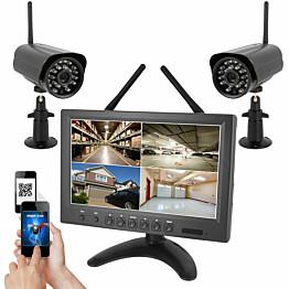 Valvontakamerajärjestelmä Celotron Eagle HD 720P langaton sis. 2 kameraa