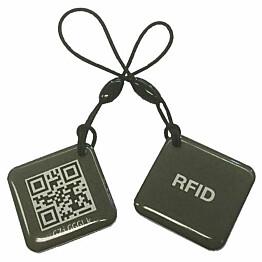 RFID-tunniste Celotron avaimenperä QR-koodein 2 kpl/pkt