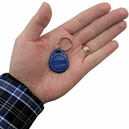 RFID-tunniste Celotron TAG-1 avaimenperä sininen