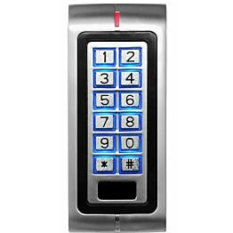 Koodinäppäimistö Celotron RFID-lukijalla relelähdöllä sisäkäyttöön