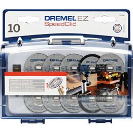 Tarvikesarja Dremel SC690 EZ SpeedClic 10-osainen