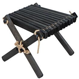 Sivupöytä/rahi EcoFurn Lilli tervaleppä musta