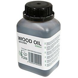Puuöljy EcoFurn 2,5 dl ruskea