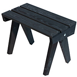 Pöytä EcoFurn Granny mänty musta