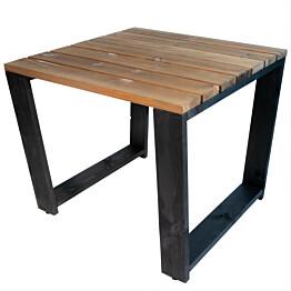 Pöytä EcoFurn Jussi 87 musta/ruskea