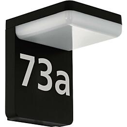 LED-numerovalaisin Eglo Amarosi musta