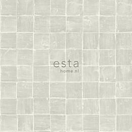 Tapetti Esta Tile Motif 148315, 0,53x10,05m, beige