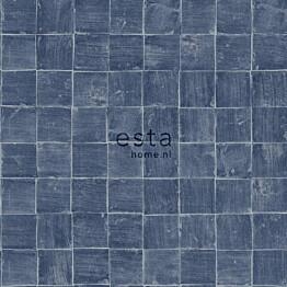 Tapetti Esta Tile Motif 148319, 0,53x10,05m, sininen