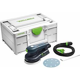 Epäkeskohiomakone Festool ETS EC 125/3 EQ-Plus Ø125mm Systainer-salkulla