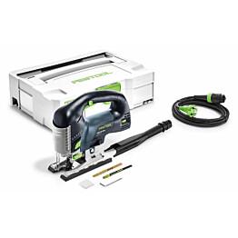 Pistosaha Festool Carvex PSB 420 EBQ-Plus painokytkimellä + Systainer-salkku