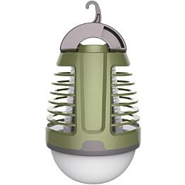 Hyönteisansa Finvalo LED-valolla vihreä