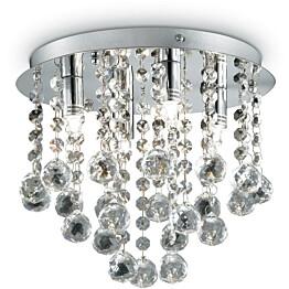 Plafondi Ideal Lux Bijoux PL4 kromi