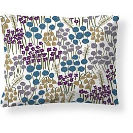 Tyynyliina Finlayson Armas, 50x60cm, valkoinen/petrooli/violetti