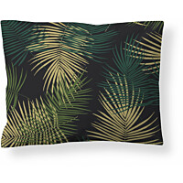 Satiinityynyliina Finlayson Palma, 50x60cm, vihreä/musta