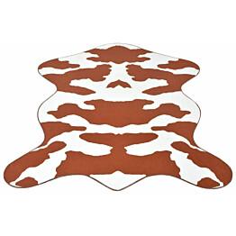 Taljamatto 110x150cm lehmäkuvio ruskea