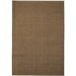 Sisaltyylinen matto sisä-/ulkotiloihin 80x150cm ruskea