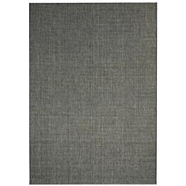Sisaltyylinen matto sisä-/ulkotiloihin 140x200cm tummanharmaa