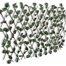 Pajusäleikköaita tekolehdillä, 5kpl, 180x90cm