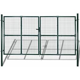 Puutarhan verkko-aidan portti, 289x200cm/306x250cm