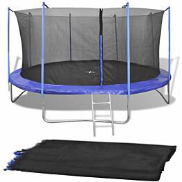 Turvaverkko 3,66 m pyöreään trampoliiniin
