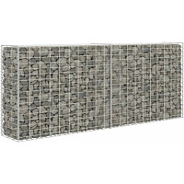 Gabion/kivikori, galvanoitu teräs, 85x30x200cm