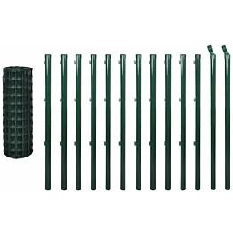 Verkkoaita, teräs, 25x0.8m, vihreä