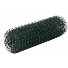 Kanaverkko 16x16mm, galvanoitu teräs, 25x0.5m, vihreä
