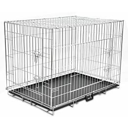 Kokoontaitettava koiranhäkki, 78x109x70cm, XL