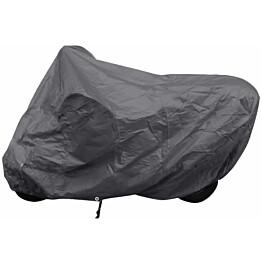 Moottoripyörän suoja, musta, polyesteri