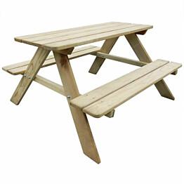 Lasten Piknikpöytä, 89x89,6x50,8 cm, mänty