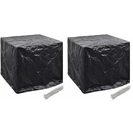 Puutarhan vesisäiliön suojat 2kpl, 8 purjerengasta, 116x100x120 cm