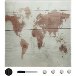 Seinäkiinnitteinen magneettinen tussitaulu, lasi, 50x50 cm