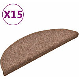 Porrasmatot 15kpl 56x17x3cm ruskea