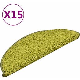 Porrasmatot 15kpl 56x17x3cm vihreä