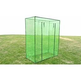 Kasvihuone teräsrunko PVC, 170x80x200 cm