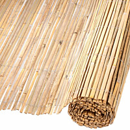 Puutarhasuoja, bambu, 1.5x5 m