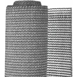 Puutarhan suoja-aita, PE, 1.5x5m, harmaa