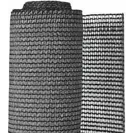 Puutarhan suoja-aita, PE, 1x3m, antrasiitti
