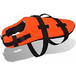 Koiran pelastusliivi, koko S, oranssi